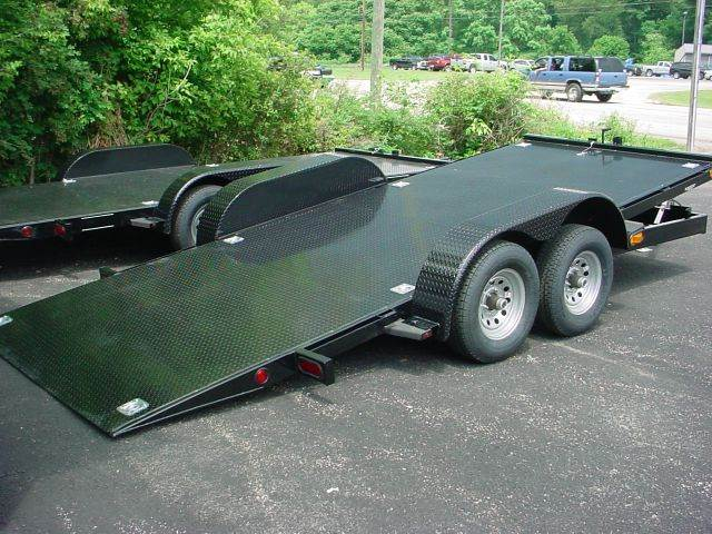 2015 J B Enterprises 18' Tilt Bed Car Hauler