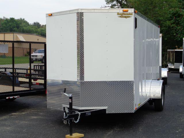 2015 Continental Cargo 6x12 V-Nose Cargo