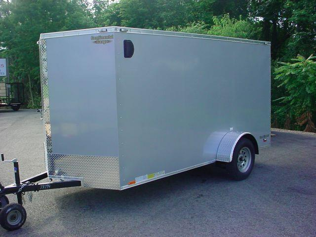 2014 Continental Cargo 6x12 V-Nose w/Ramp Door
