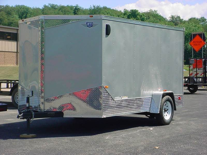 2015 Middlebury Trailers Inc. 7x12 Single Axle w/Brakes
