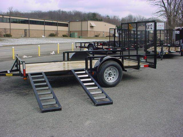 "2014 Reiser Mfg. 6'4""  x 12 ATV Side / Utility"