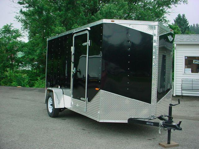 2014 Middlebury 6x12 V-Nose w/Ramp Door