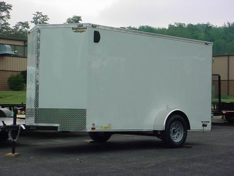 2016 Continental Cargo 6x12 Cargo w/Barn Doors