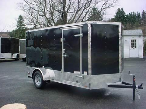 2016 Continental Cargo 6x12 VHW V-Nose Cargo Trailer