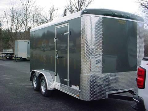 -1 NEW Continental Cargo 7x14 Cargo Trailer