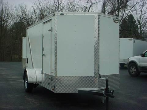 2016 Continental Cargo VHW 6x12 V-Nose White