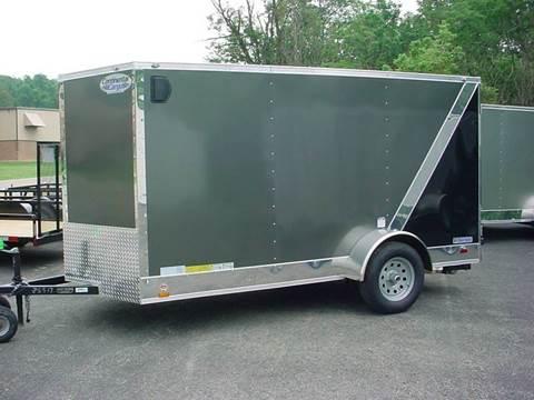 2018 Continental Cargo 6x12 V-Nose Cargo Trailer