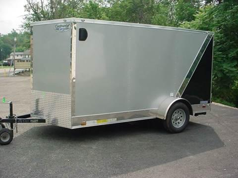 2018 Continental Cargo 6.5x12 V-Nose Cargo Trailer