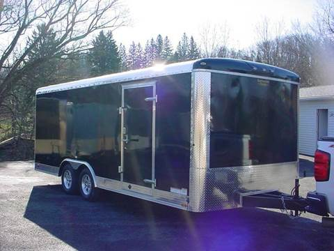 -1 NEW Continental Cargo 8.5X20 cargo trailer