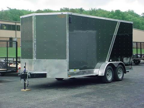 2017 Continental Cargo 7x16 V-Nose w/Extra Height