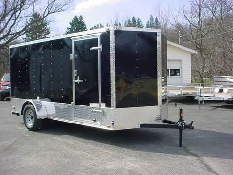 2016 Continental Cargo 6x14 V- nose cargo trailer