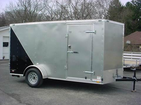 2016 Continental Cargo 6.5x12 V-nose cargo trailer