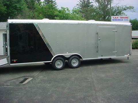 2017 Continental Cargo 8.5x24  Car Hauler