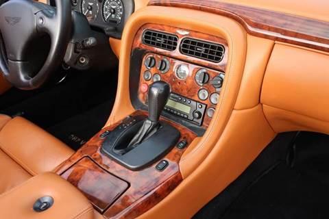 2002 Aston Martin DB7 for sale in Decatur, IL