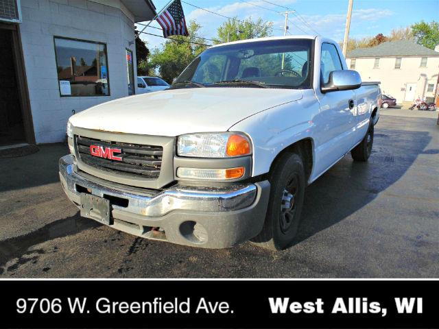 2005 gmc sierra 1500 work truck in west allis wi carriage auto mart. Black Bedroom Furniture Sets. Home Design Ideas
