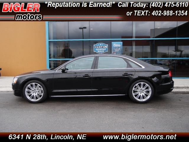 2014 audi a8 for sale in lincoln ne. Black Bedroom Furniture Sets. Home Design Ideas