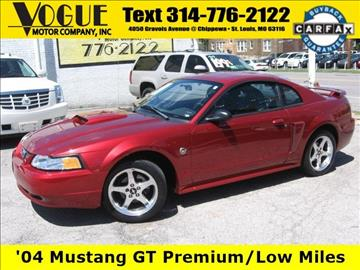 Ford Mustang For Sale Saint Louis Mo