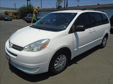 2005 Toyota Sienna for sale in Downey, CA
