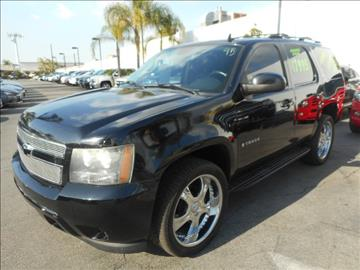 2007 Chevrolet Tahoe for sale in Downey, CA