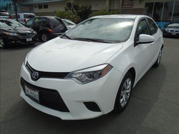 2014 Toyota Corolla for sale in Downey, CA
