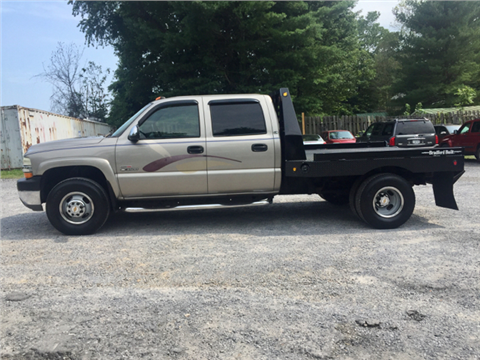 2002 Chevrolet Silverado 3500 for sale in Flint Hill, VA