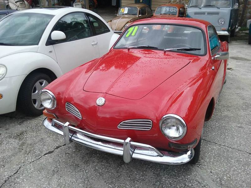 Volkswagen karmann ghia for sale in virgin islands for Hilltop motors jacksonville fl