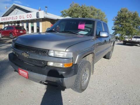 2001 Chevrolet Silverado 2500HD for sale in Greenfield, IA