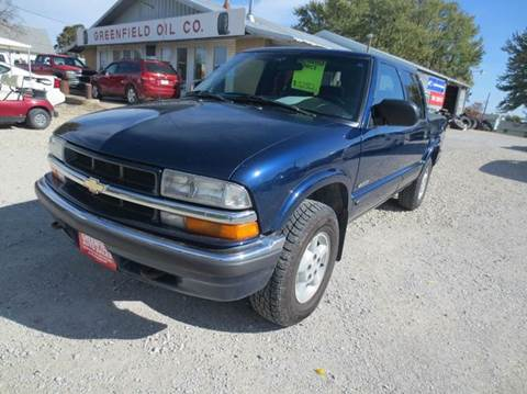 2002 Chevrolet S-10 for sale in Greenfield, IA