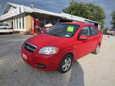 2007 Chevrolet Aveo for sale in Greenfield, IA