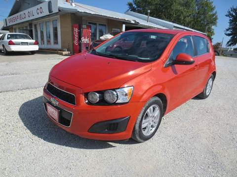 2013 Chevrolet Sonic for sale in Greenfield, IA
