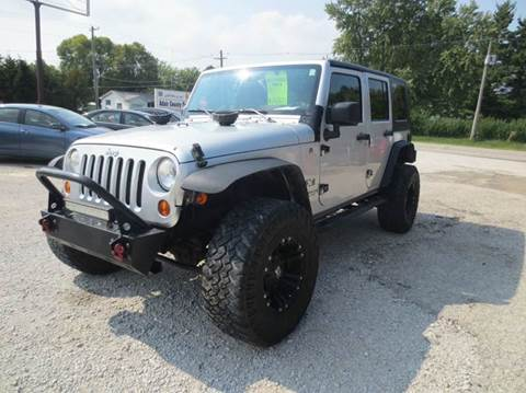 2007 Jeep Wrangler Unlimited for sale in Greenfield, IA