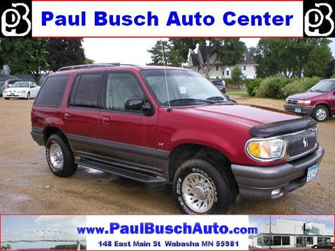 2000 Mercury Mountaineer for sale in Wabasha, MN