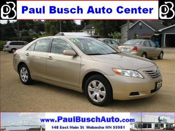 used 2008 toyota camry for sale minnesota. Black Bedroom Furniture Sets. Home Design Ideas