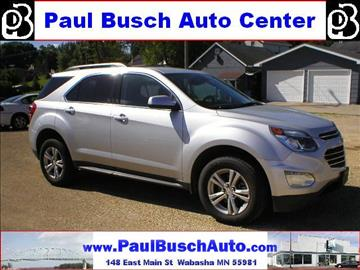 2016 chevrolet equinox for sale minnesota. Black Bedroom Furniture Sets. Home Design Ideas