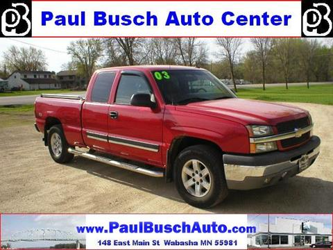2003 Chevrolet Silverado 1500 for sale in Wabasha, MN