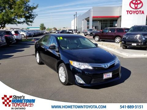 Used Toyota Camry Hybrid For Sale In Idaho