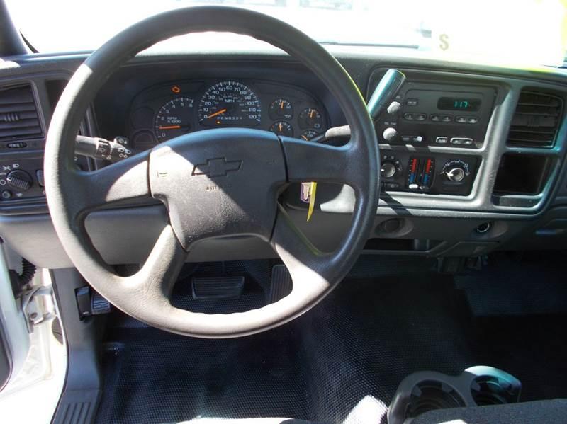 2007 Chevrolet Silverado 1500 Classic Work Truck 2dr Regular Cab 8 ft. LB - Cullman AL