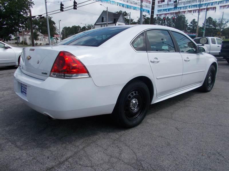2012 Chevrolet Impala Police 4dr Sedan w/3FL - Cullman AL