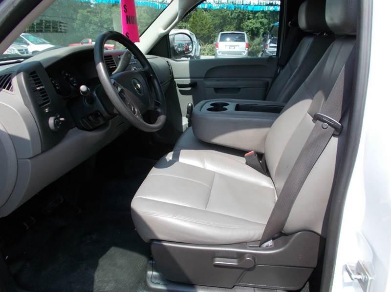 2012 Chevrolet Silverado 1500 4x2 Work Truck 2dr Regular Cab 8 ft. LB - Cullman AL