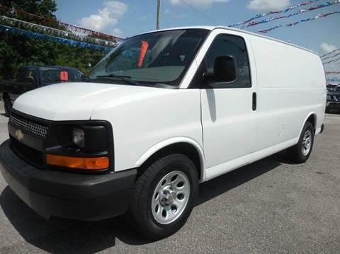 2011 Chevrolet Express Cargo