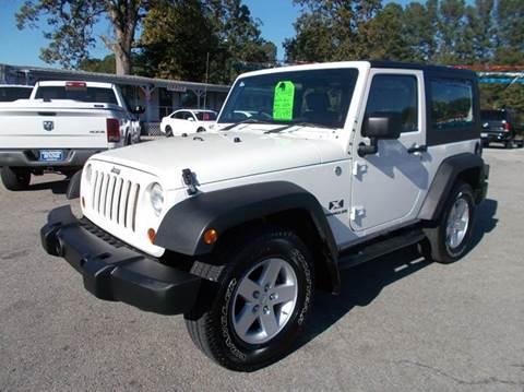 2008 Jeep Wrangler for sale in Cullman, AL