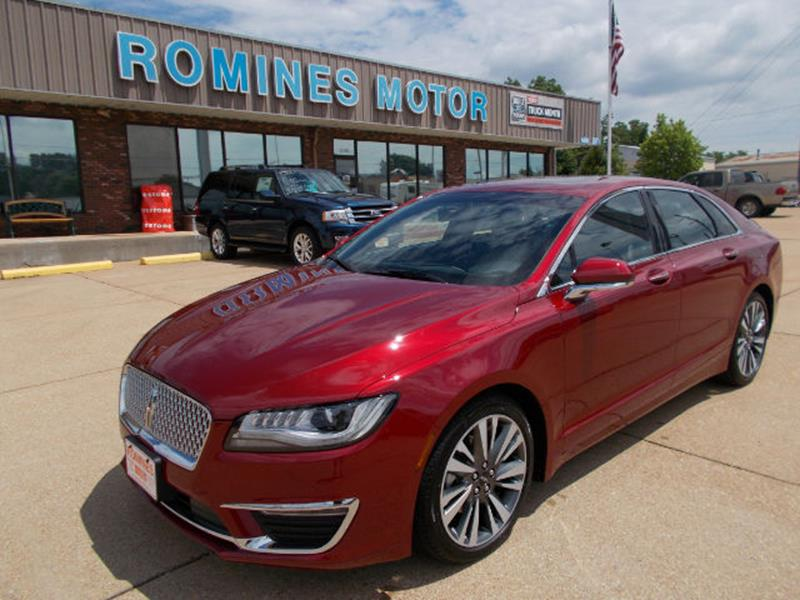 2017 lincoln mkz select 4dr sedan in houston mo romines motor co. Black Bedroom Furniture Sets. Home Design Ideas