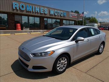 Used Ford Fusion For Sale Vermont