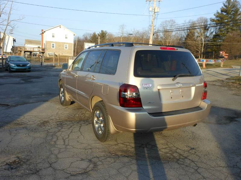 2006 Toyota Highlander AWD4DR4CYL - Middletown NY