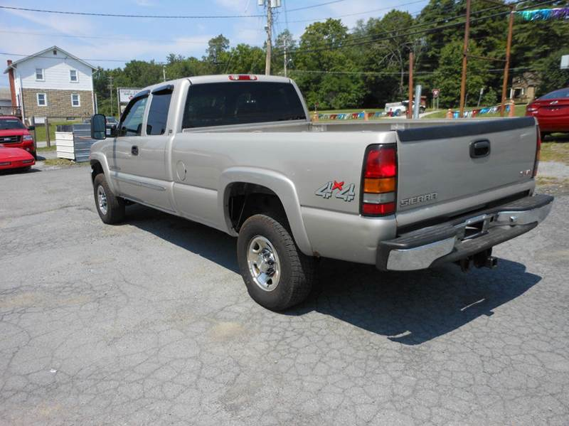 2006 GMC Sierra 2500HD SLE1 4dr Extended Cab 4WD LB - Middletown NY