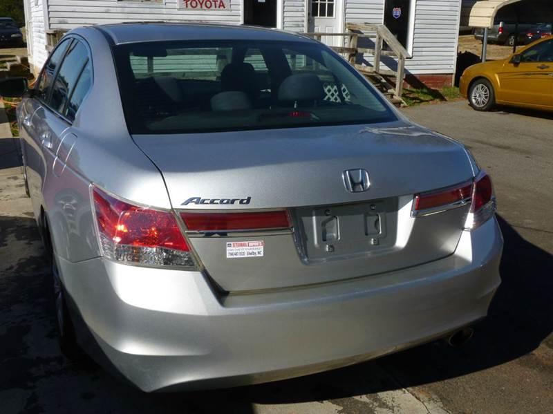 2012 Honda Accord LX 4dr Sedan 5A - Shelby NC