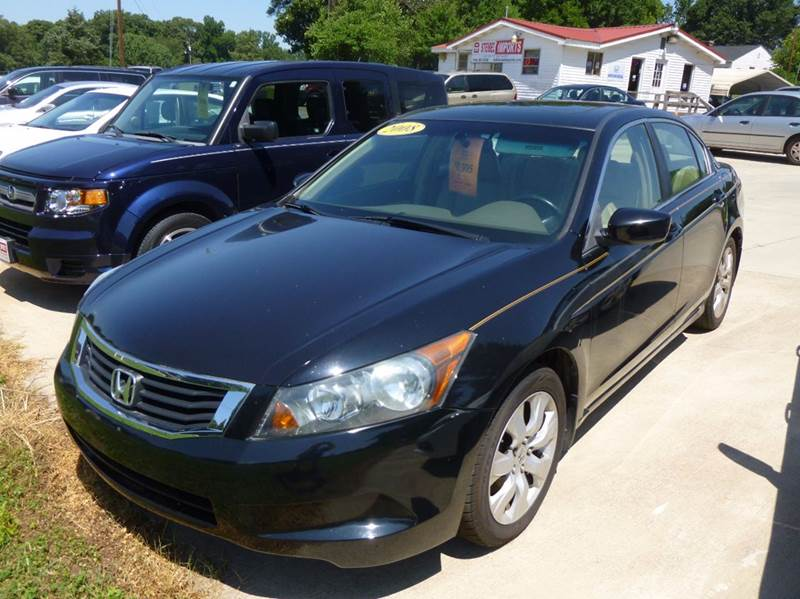 2008 Honda Accord EX-L 4dr Sedan 5A - Shelby NC