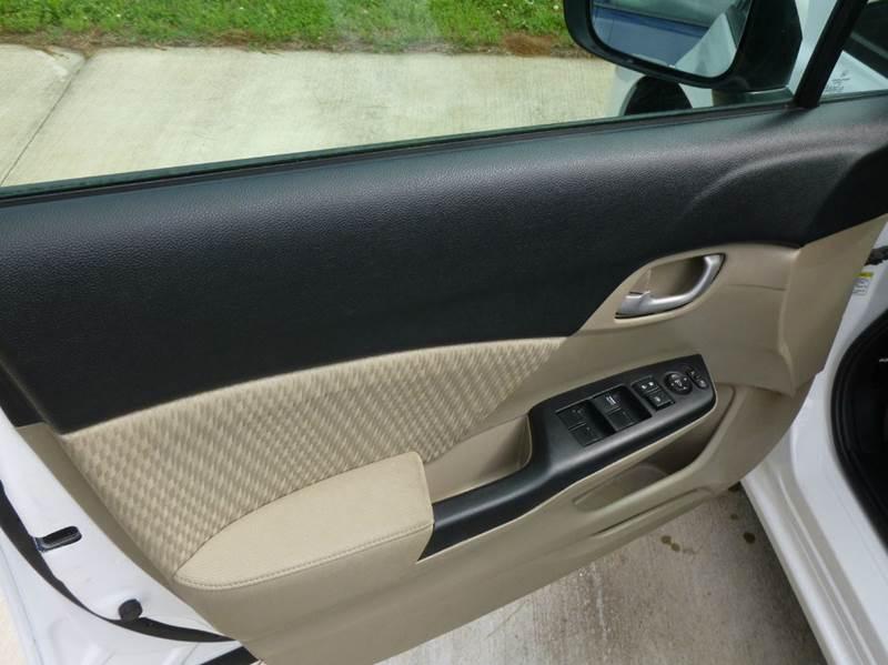 2015 Honda Civic LX 4dr Sedan CVT - Shelby NC