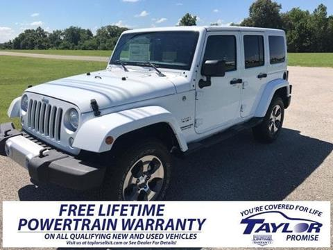 2017 Jeep Wrangler Unlimited for sale in Martin, TN
