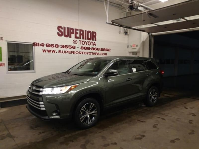 Toyota Highlander For Sale In Pennsylvania Carsforsale Com